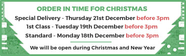 Order In Time For Christmas