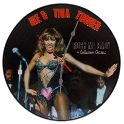 Tina Turner Rock Me Baby Clock