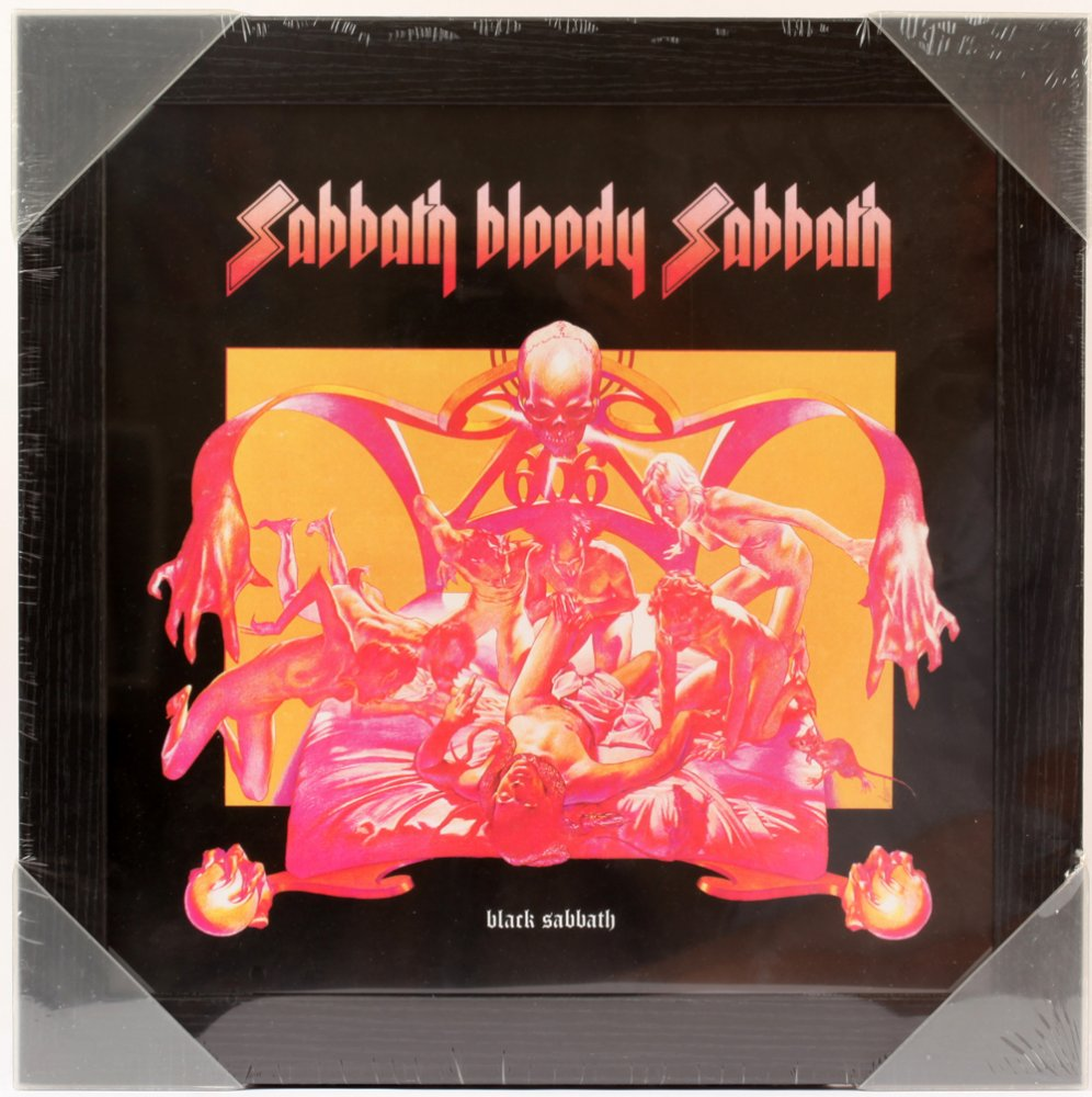 Sabbath Bloody Sabbath Framed Album Cover Print