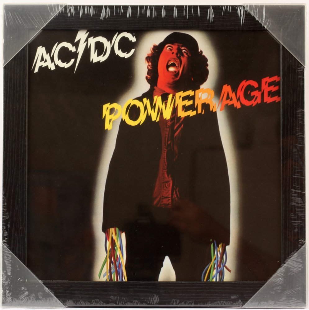 Powerage Framed Album Cover Print