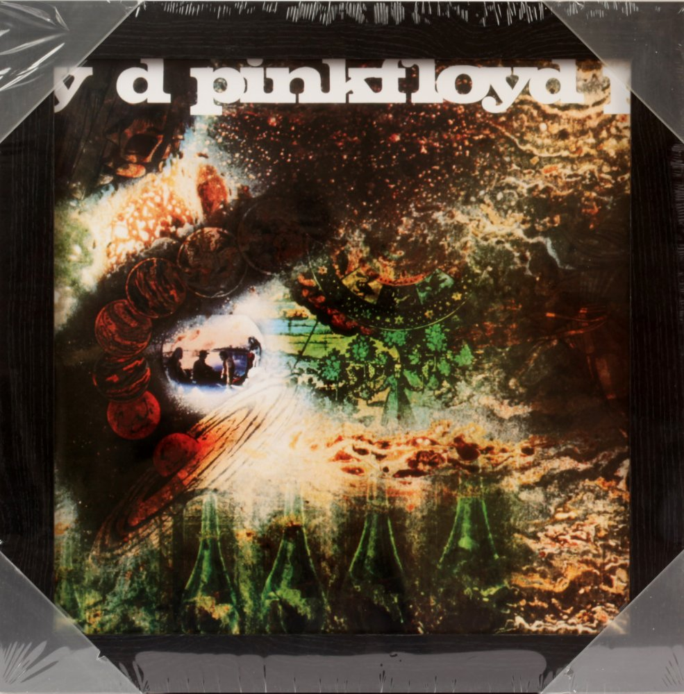 A Saucerful Of Secrets Framed Album Cover Print