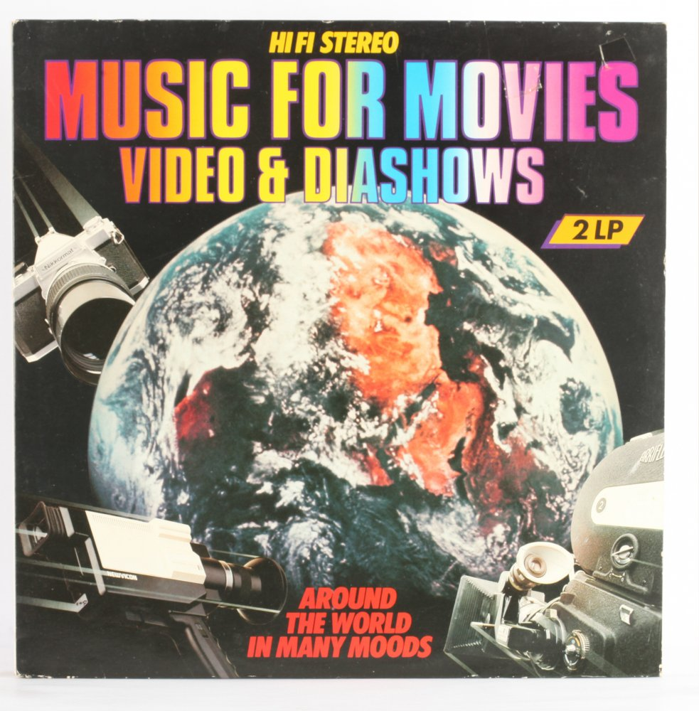 Around The World In Many Moods - Music For Movies, Video & Diashows