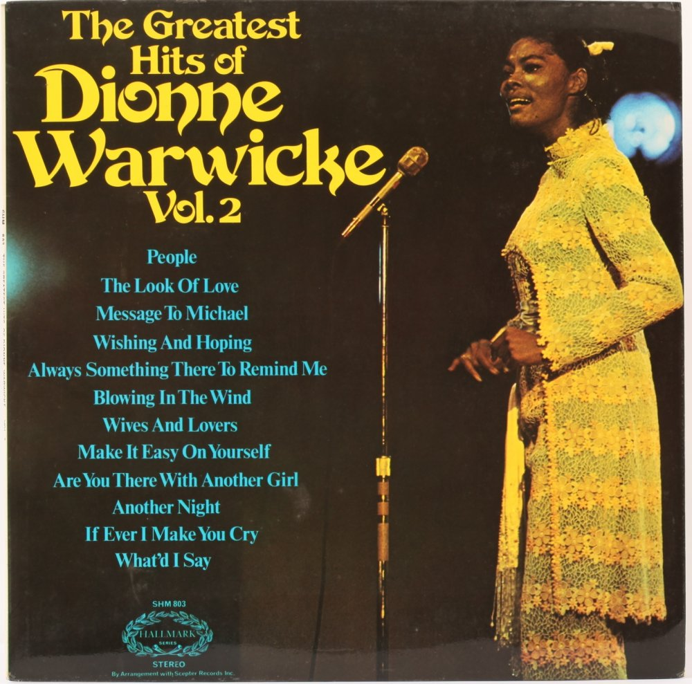 The Greatest Hits Of Dionne Warwick Vol2
